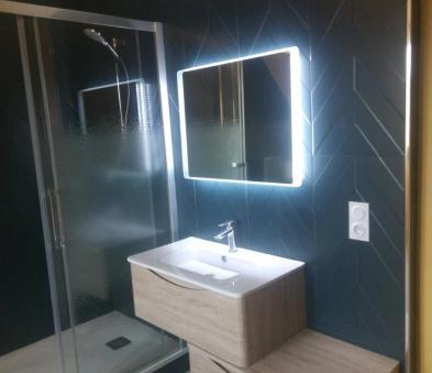 Meuble de salle de bain déstructuré