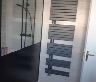 Sèche serviette gris anthracite