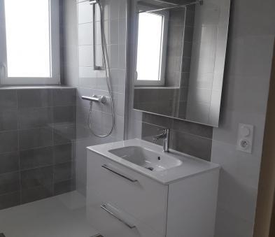Salle d\'eau lavabo-douche Le Relecq-Kerhuon | Histoire d\'O